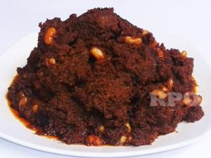 Rendang Padang Daging Sapi Campur Kacang Putih 1 Kg